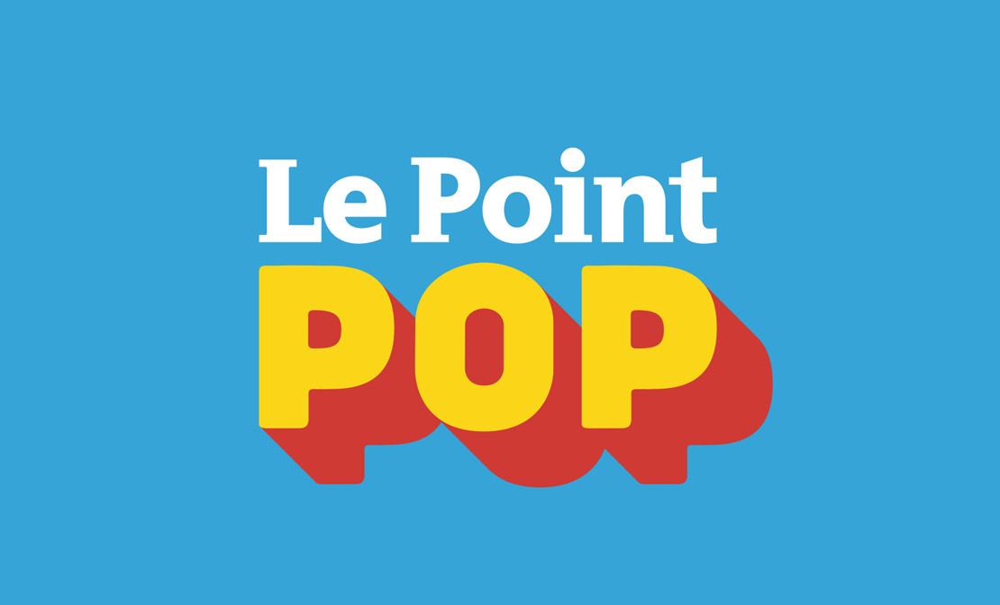 Logotype du Point POP, http://www.lepoint.fr/pop-culture/